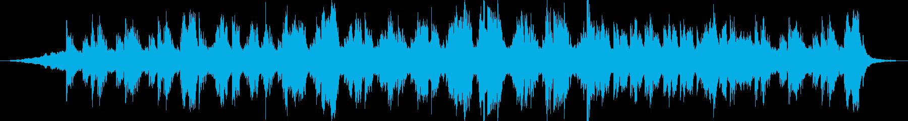 映画をイメージした何かの始まり的な曲ですの再生済みの波形