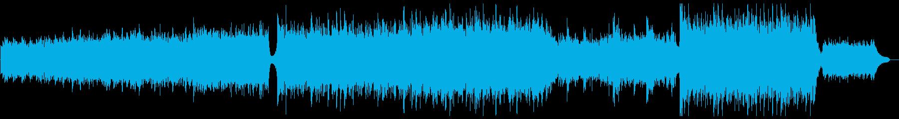 ハリウッド風シリアストレイラー:ブラス抜の再生済みの波形