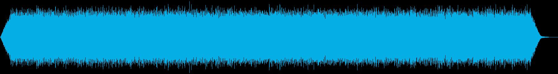 【アンビエント】ドローン_34 実験音の再生済みの波形