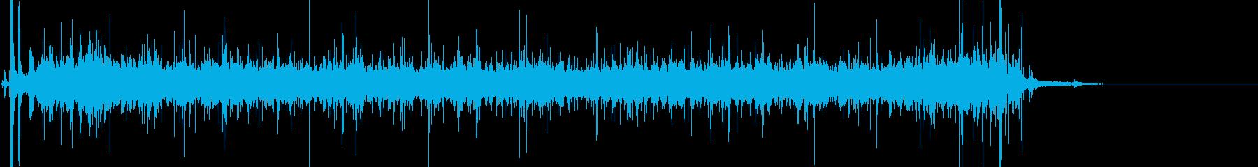 洗濯機:水とモーターのノイズを伴う...の再生済みの波形