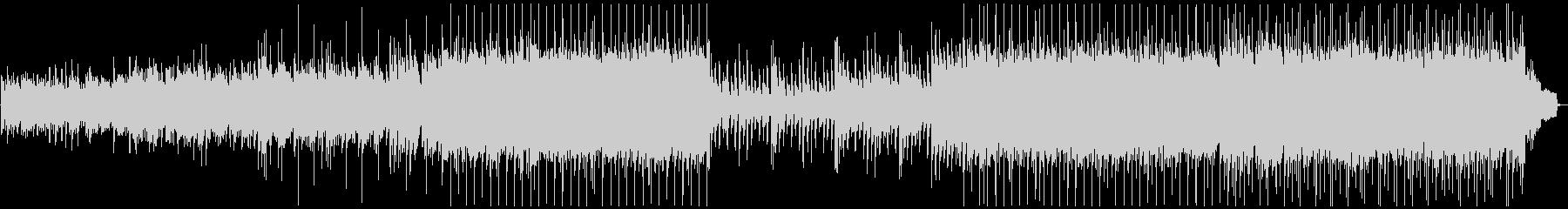 ほのぼのと温かい癒されるピアノジングルの未再生の波形