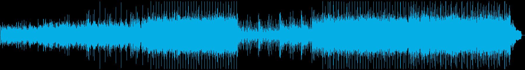 ほのぼのと温かい癒されるピアノジングルの再生済みの波形