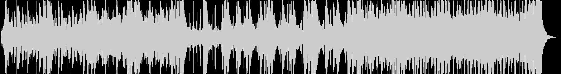 和・尺八・琴、重厚なエピックオーケストラの未再生の波形