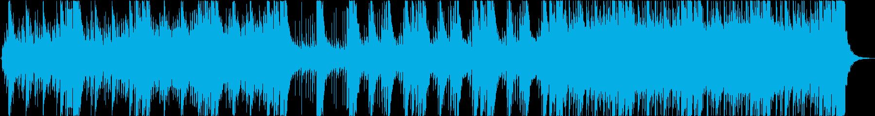 和・尺八・琴、重厚なエピックオーケストラの再生済みの波形