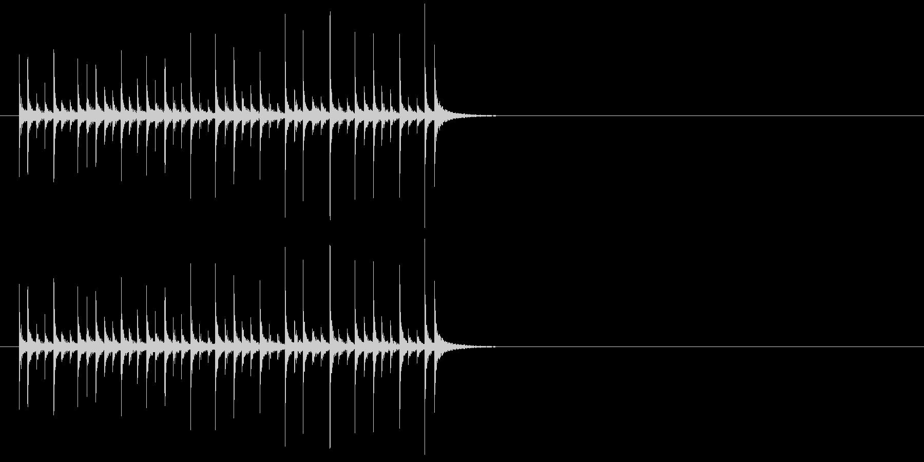 ランニングドラム、音楽、パーカッシ...の未再生の波形