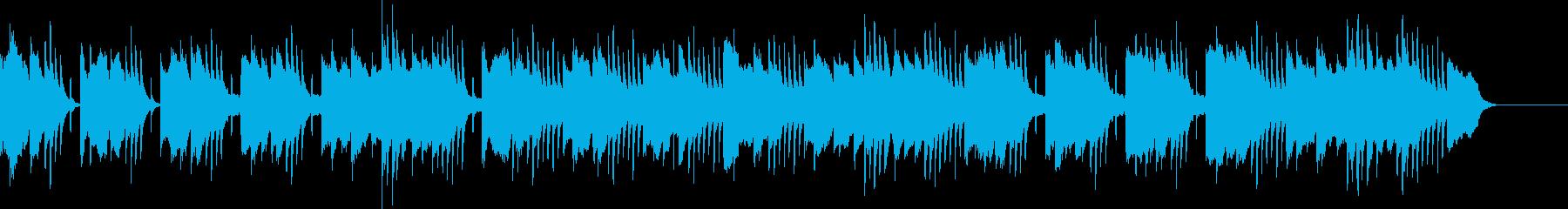 軽快で明るく可愛らしい曲/ミニゲームの再生済みの波形