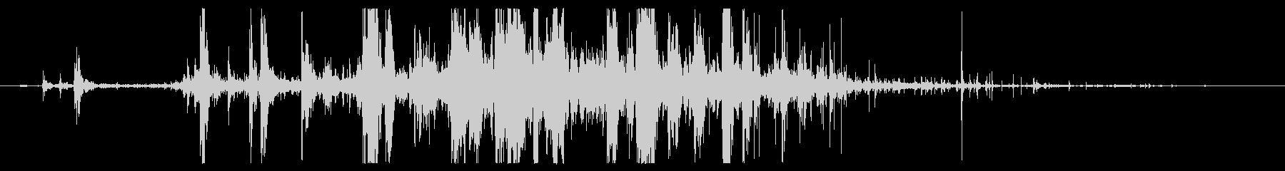ミディアムロックスライドの未再生の波形