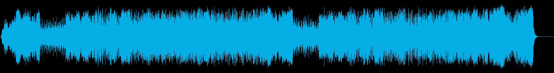 開拓時代の壮大な映画音楽/オーケストラの再生済みの波形