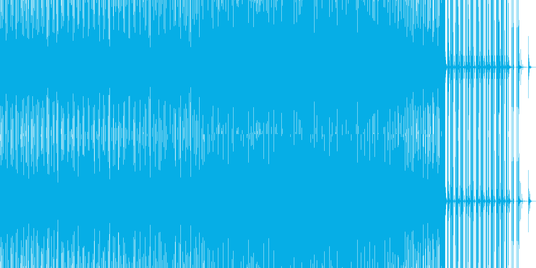 不思議な和風サウンドを西洋風ビートに乗せの再生済みの波形