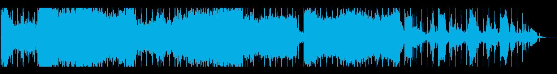 ダークかつノイジーなアンビエントの再生済みの波形