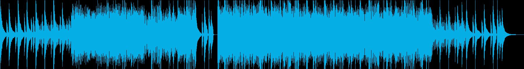 美しく幻想的なアコギサウンドの再生済みの波形