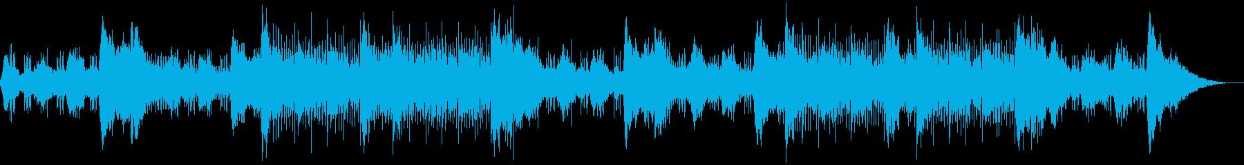 不気味で怪しい雰囲気のBGMの再生済みの波形
