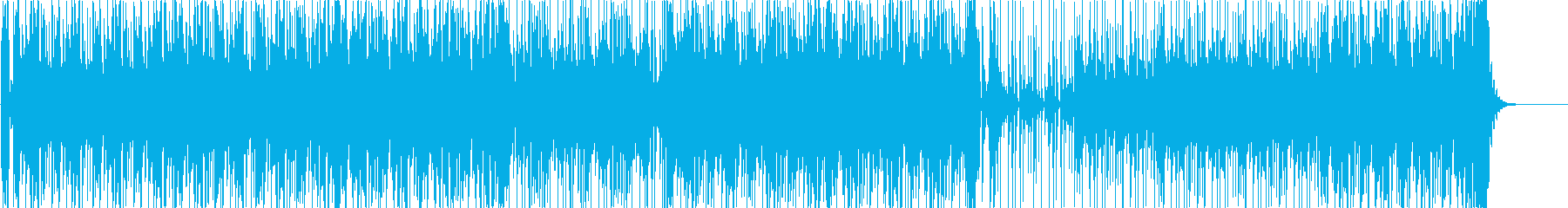 ダンス・アメコミのイメージに合うファンクの再生済みの波形