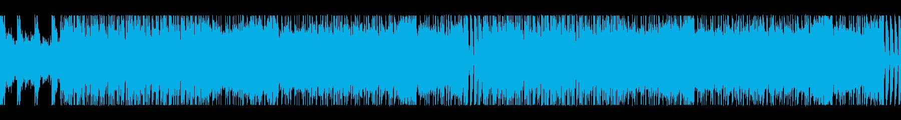 ループ:グランジ、オルタナティブロックの再生済みの波形
