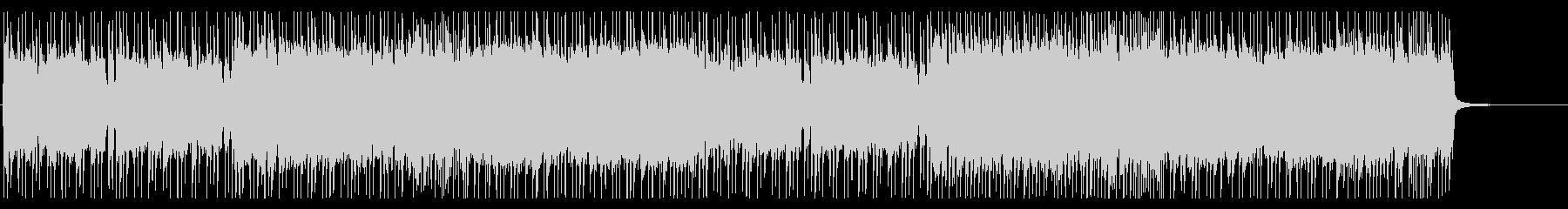 アップテンポでシンプルなメタルインストの未再生の波形