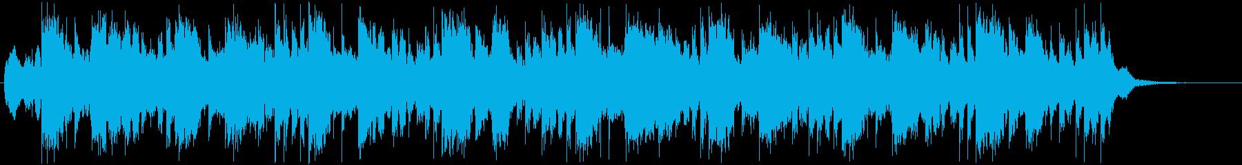洋楽 フューチャーポップ ED 切ない の再生済みの波形