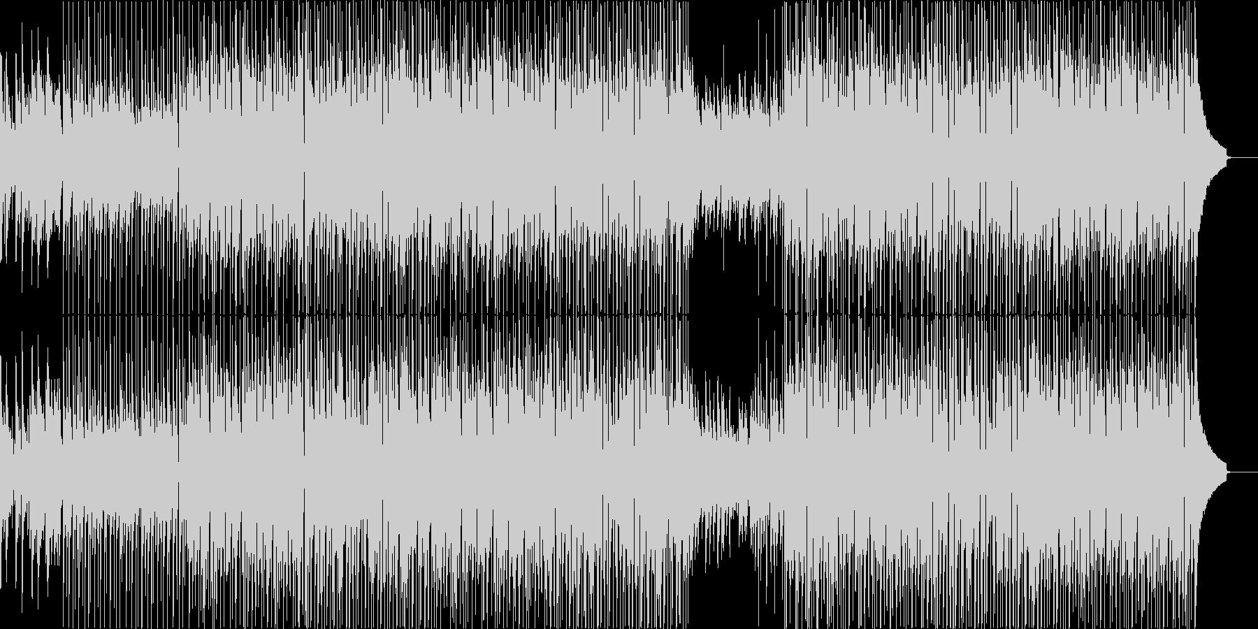 ポジティブで爽やかなピアノバンドの未再生の波形
