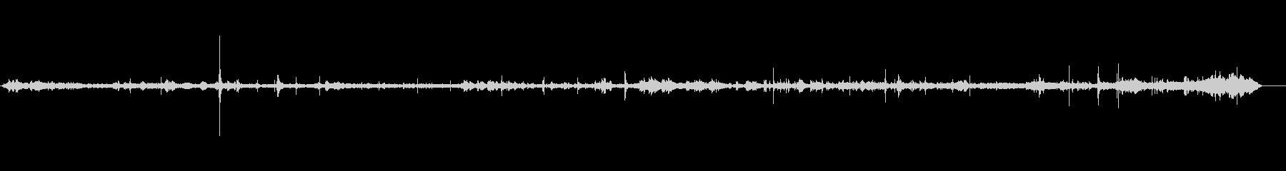 ホテルロビー-南アメリカ-静かな声の未再生の波形