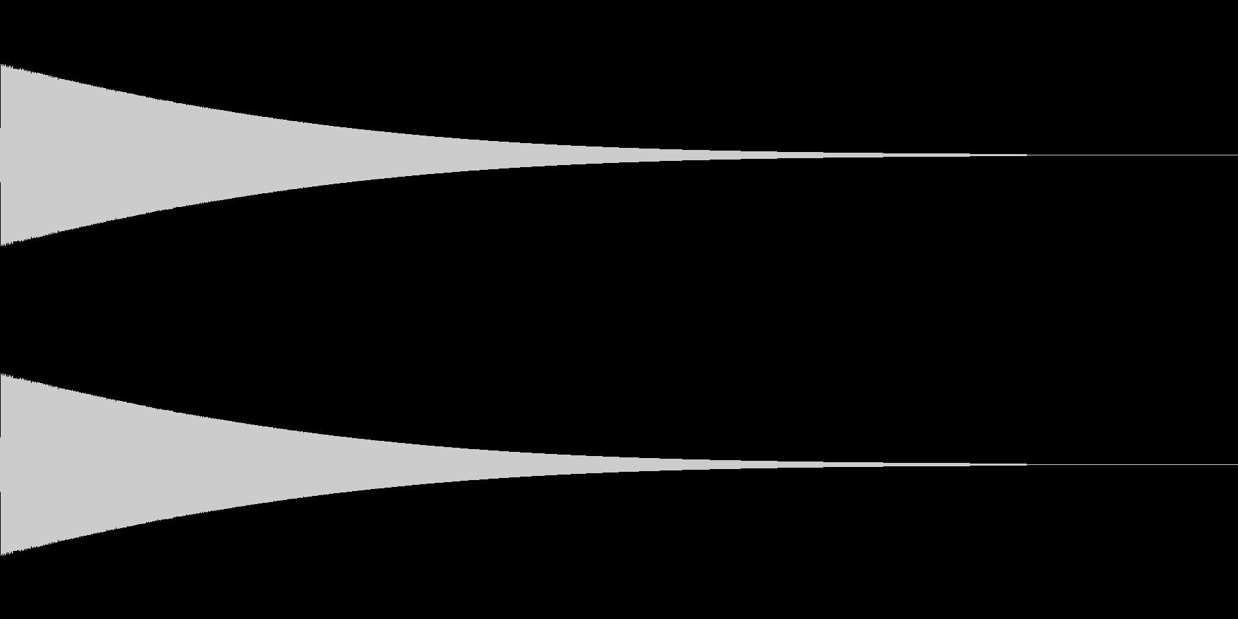 ピーパー(ファミコン/鳴き声/サイレンの未再生の波形