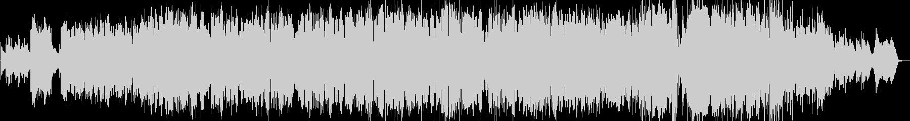 ポップ系バラードの未再生の波形