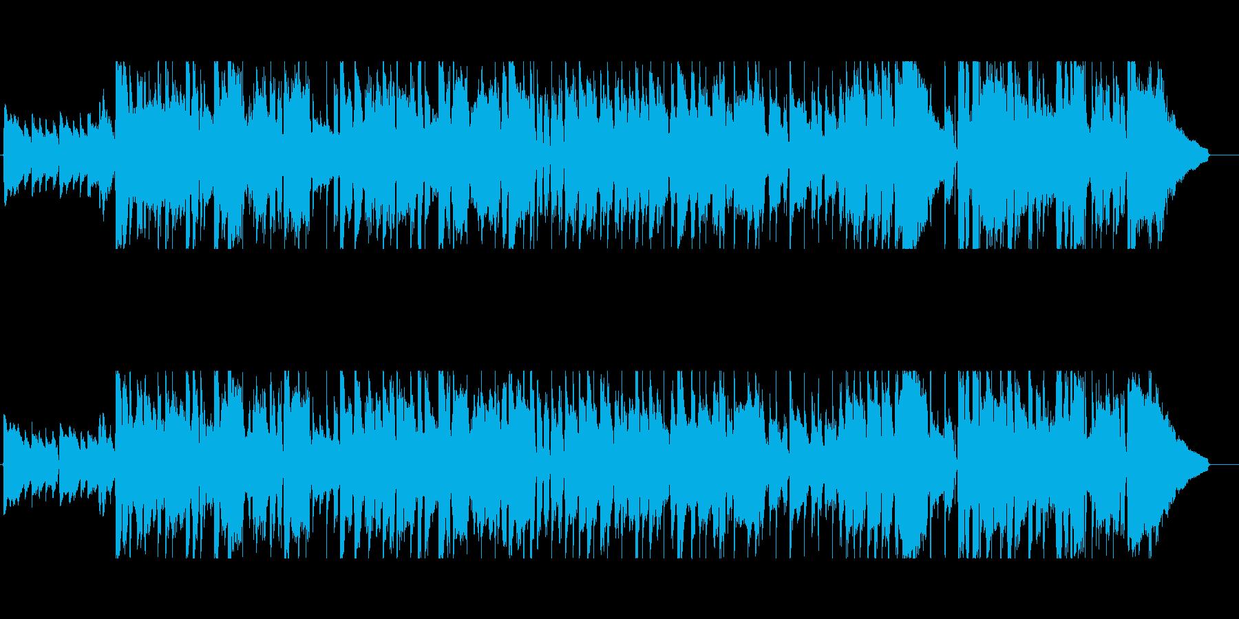 家飲みをテーマにした楽曲1の再生済みの波形