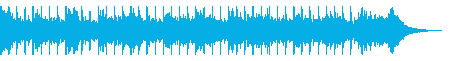新製品プレゼンテーション(30秒)の再生済みの波形