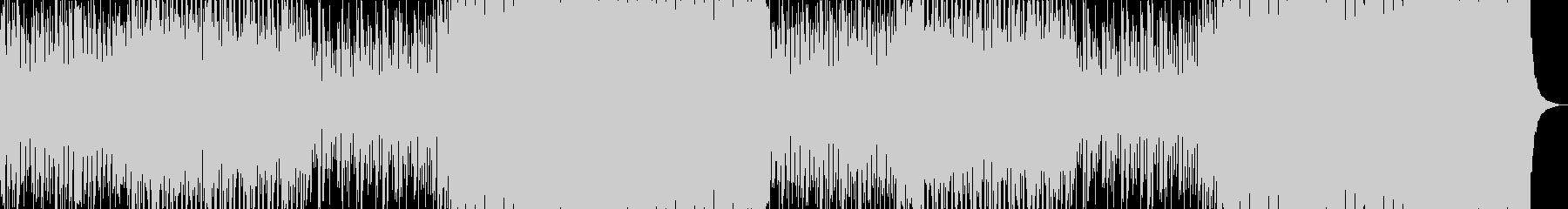アコギとボーカルチョップで今時なEDMの未再生の波形