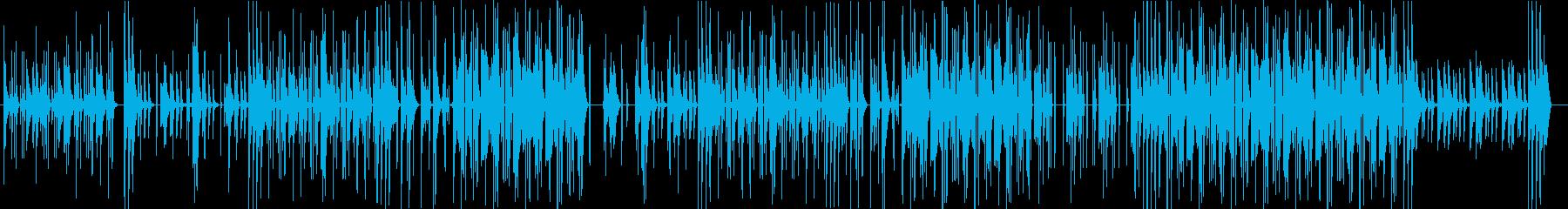 野生的で虜にするHipHopの再生済みの波形