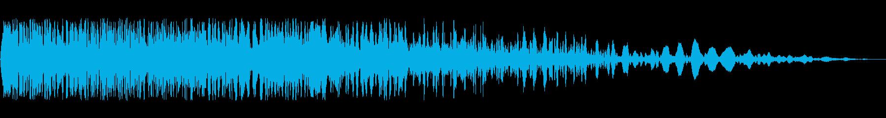 フランジングフーザディゾルブ2の再生済みの波形