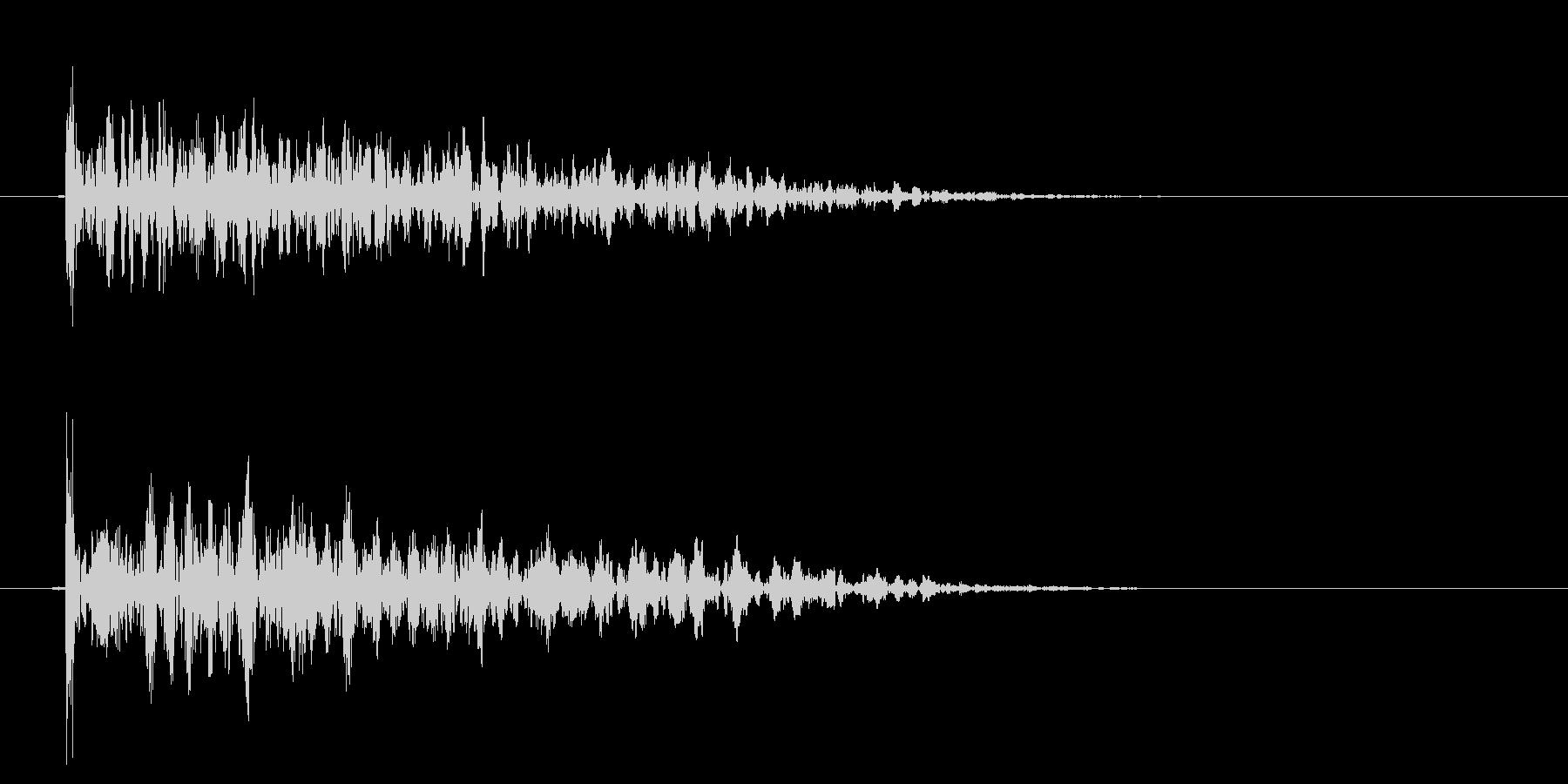 インパクトドラムダルローウッドリバ...の未再生の波形