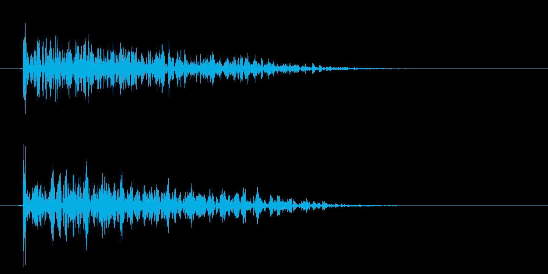 インパクトドラムダルローウッドリバ...の再生済みの波形