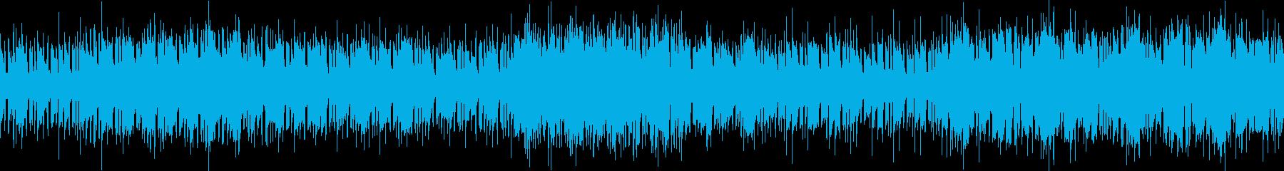 港町・市場のような民族音楽(ループ版)の再生済みの波形