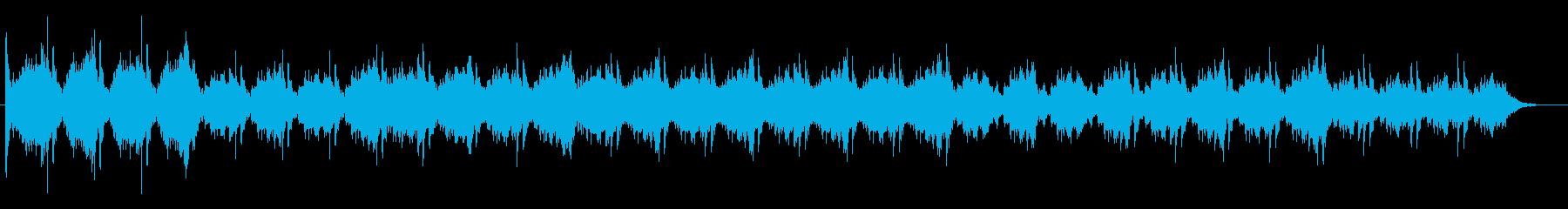 クワイアが印象的な不気味なBGMの再生済みの波形