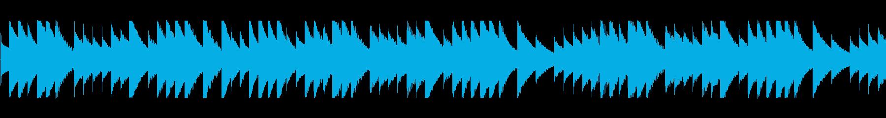 Okinawan folk song / Tinsagu nu Hana / Music box's reproduced waveform