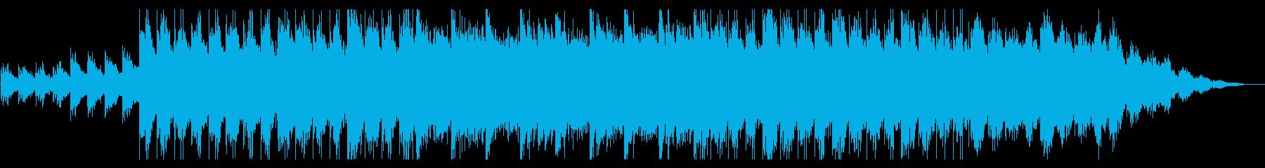 ピアノがキラキラ綺麗なBGM10の再生済みの波形
