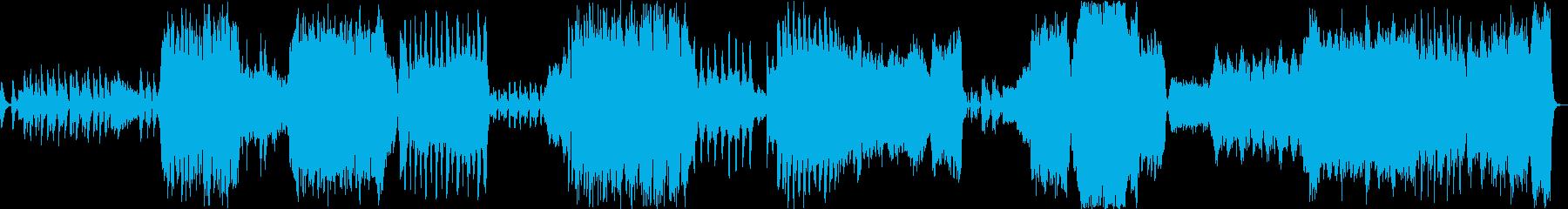 ハロウィンの再生済みの波形