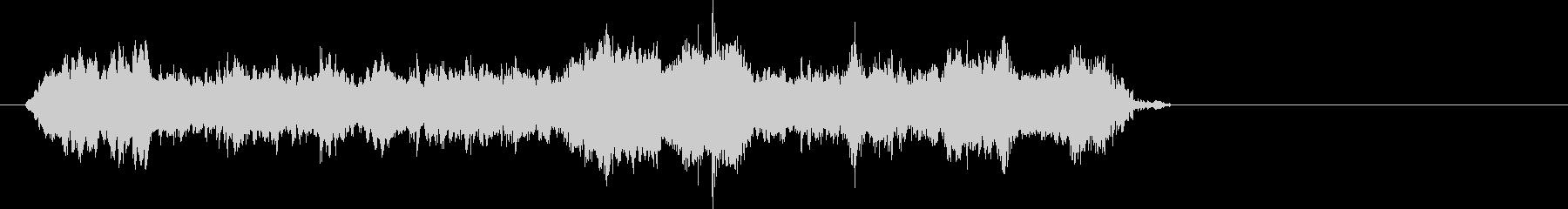 サーボモーター4;ウィニングモータ...の未再生の波形