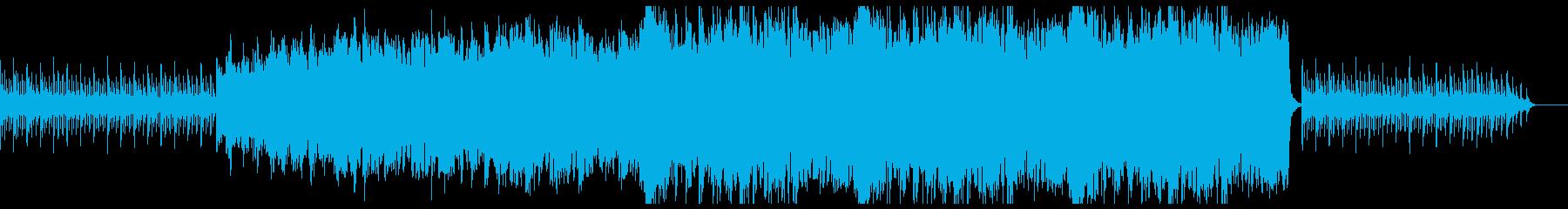 ノスタルジック 感動的なオーケストラ曲の再生済みの波形