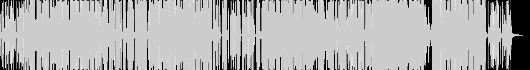 ノリの良い陽気なイメージのポップスの未再生の波形
