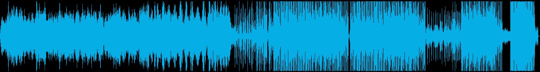 アンビエント トロピカル 未来の技...の再生済みの波形