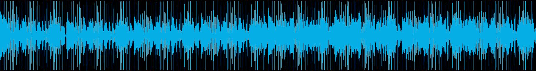 ゆったりクールなファンキーカッティング!の再生済みの波形