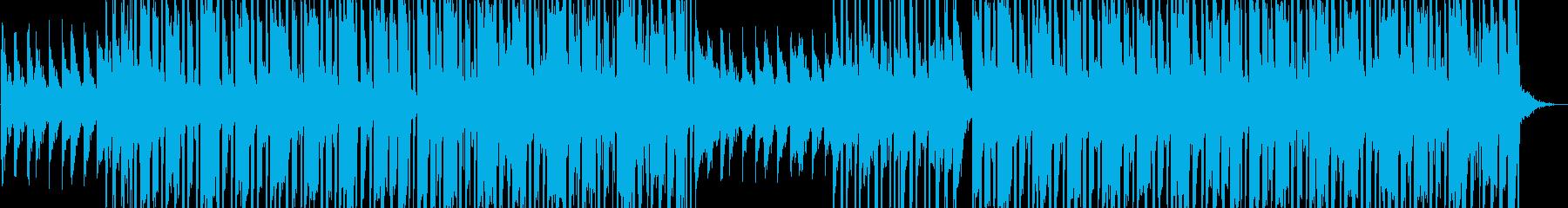 スタイリッシュなヒップホップの背景の再生済みの波形