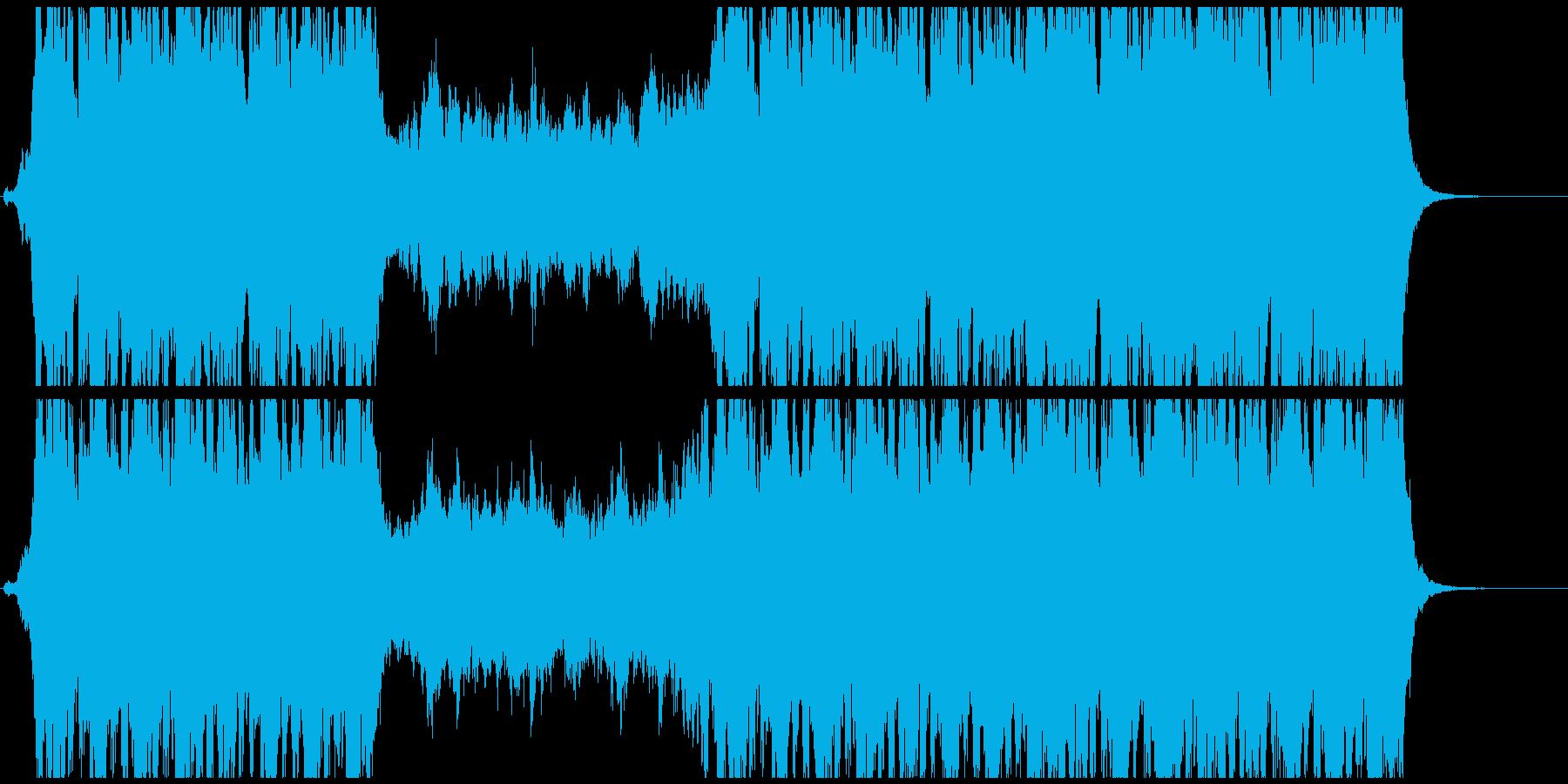 オープニングに合うワクワクオーケストラの再生済みの波形