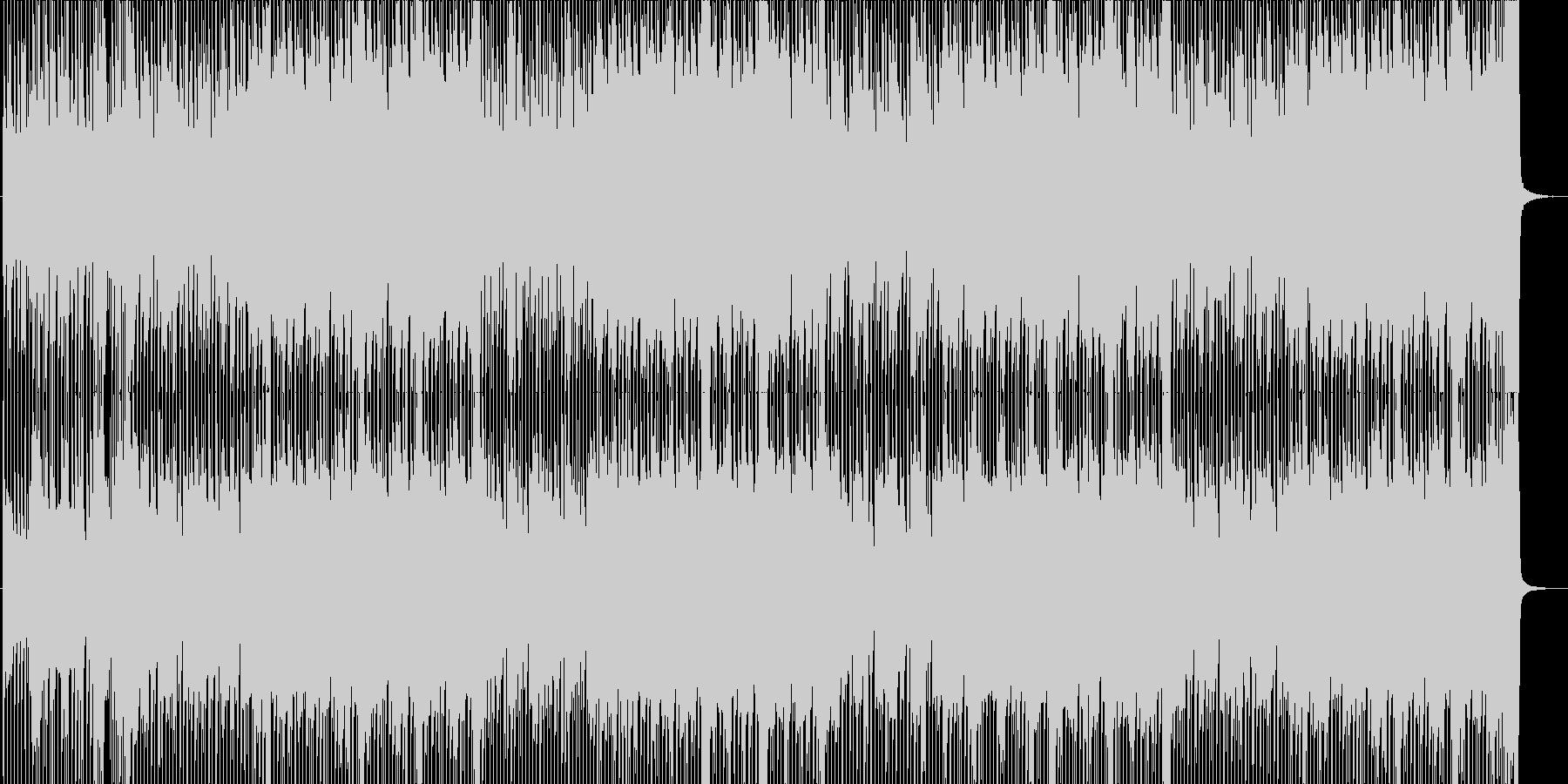 疾走感ある爽やかロック☆メロ無・長尺の未再生の波形