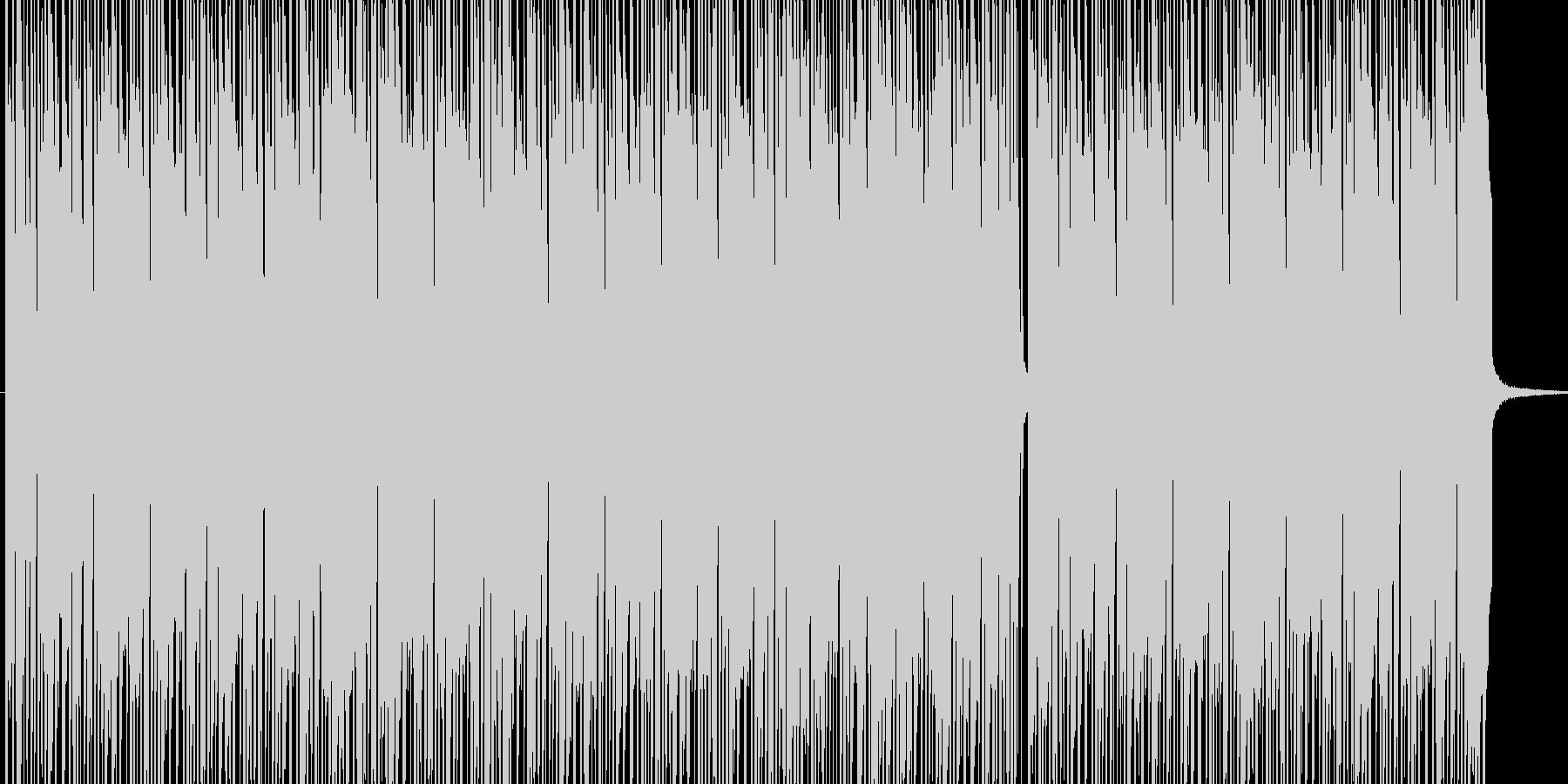 ボサノバ風BGM BPM140 の未再生の波形