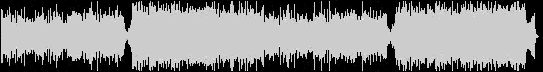 サスペンス 緊張感のあるエレクトロの未再生の波形