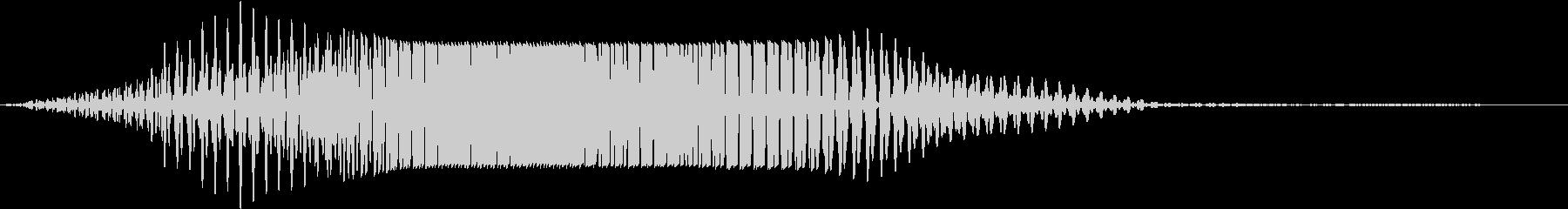 SF通過音01-04の未再生の波形
