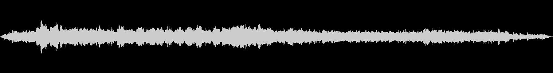 工事現場での作業音(グラインダーメイン)の未再生の波形