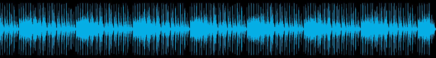 癒される揚琴のヒーリングミュージックの再生済みの波形