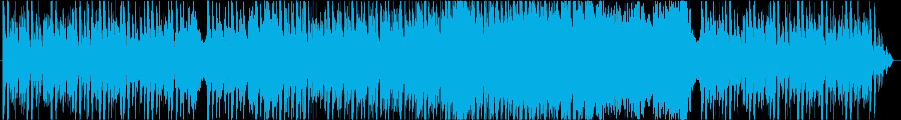 【Loop】クワイアの壮大な戦闘BGMの再生済みの波形